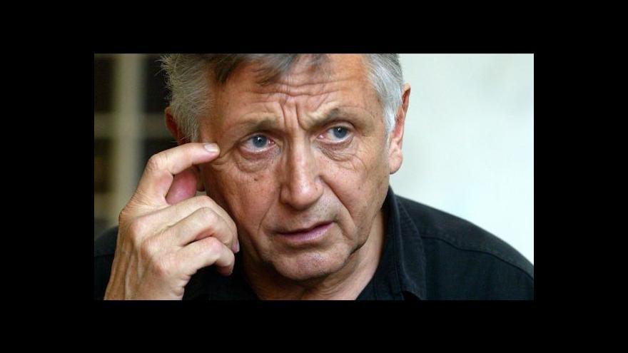 Video Jiří Menzel hostem Událostí, komentářů