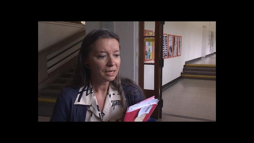 Video Hovoří třídní učitelka Iva Gilbertová
