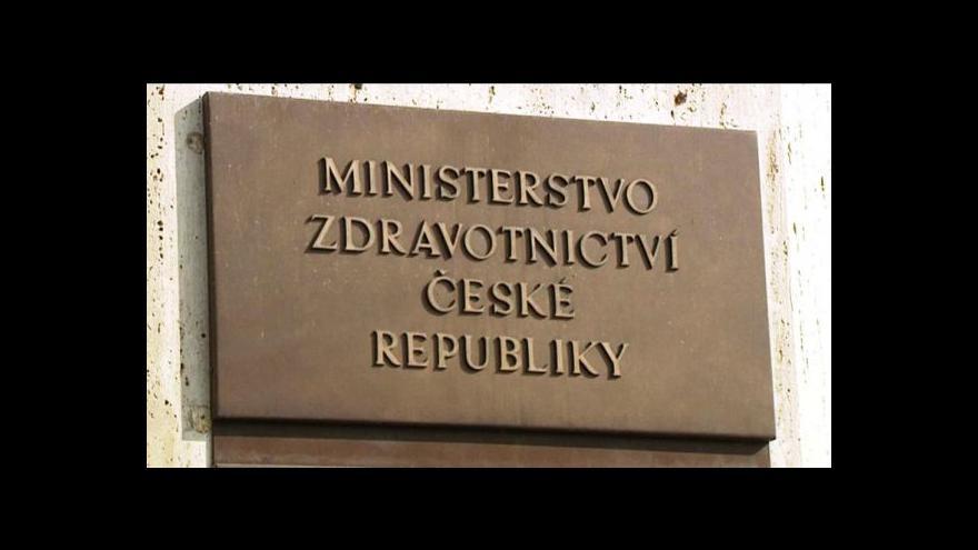 Video Ministerstvo podalo trestní oznámení na VoZP