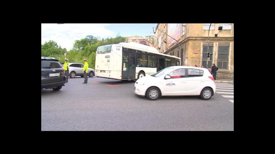 Video Michal Jemelka o nehodě autobusu