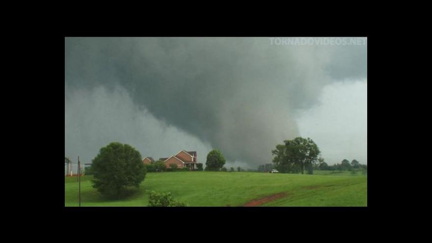 Video Události o tornádu v Oklahomě