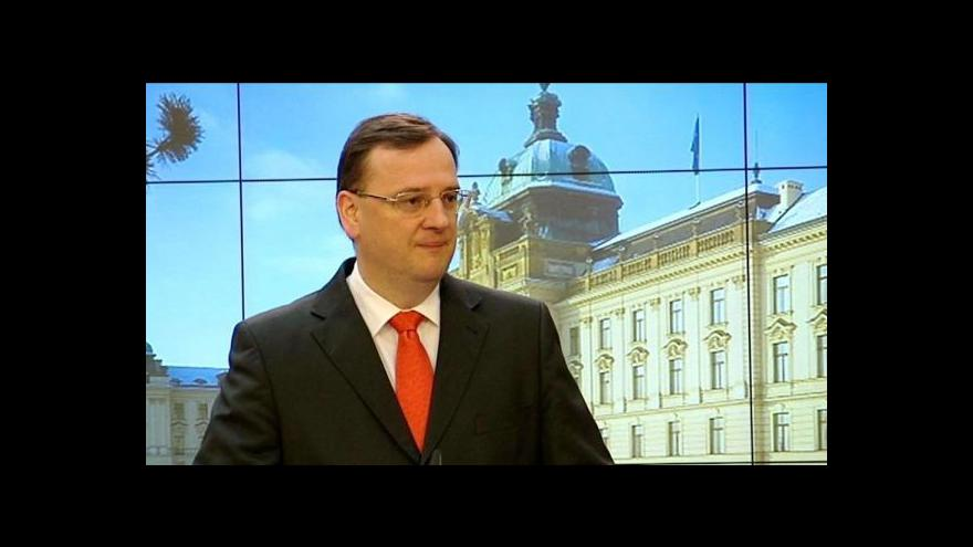 Video TK premiéra Petra Nečase po jednání s energetickými firmami