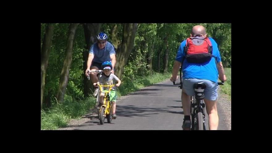 Video Přemysl Šrámek o nové cyklostezce