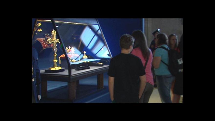 Video Výstava korunovačních klenotů skončila