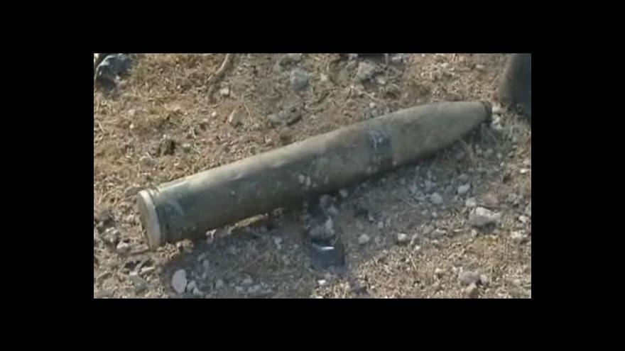 Video Sýrie namířila rakety na Izrael