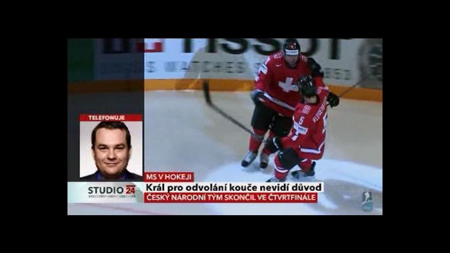 Video Telefonát Michala Dusíka k neúspěchu na MS v hokeji