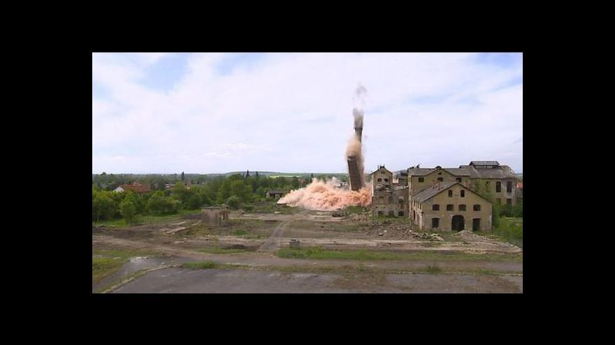 Video Petr Baraňák o demolici lenešického komína
