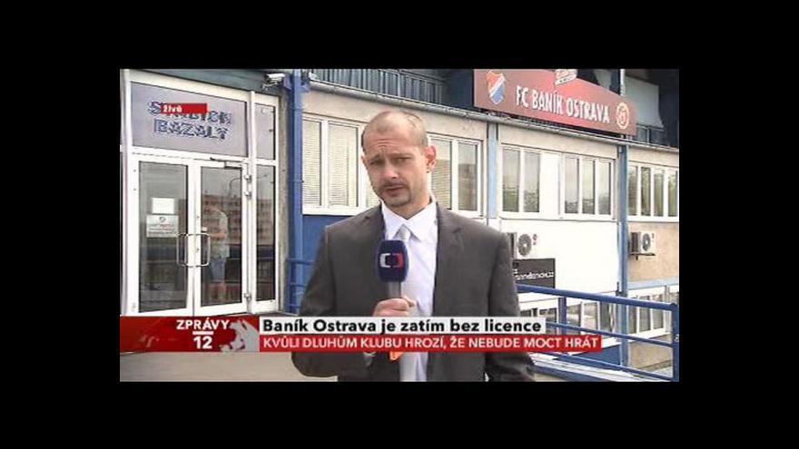 Video Vstup Tomáše Vzorka o situaci Baníku Ostrava
