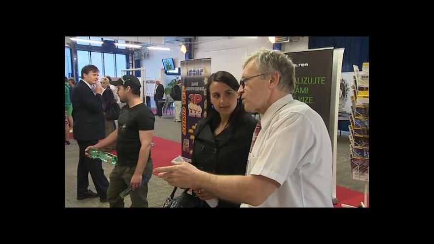 Video Miriam Majdyšová z Úřadu práce Zlínského kraje o burze