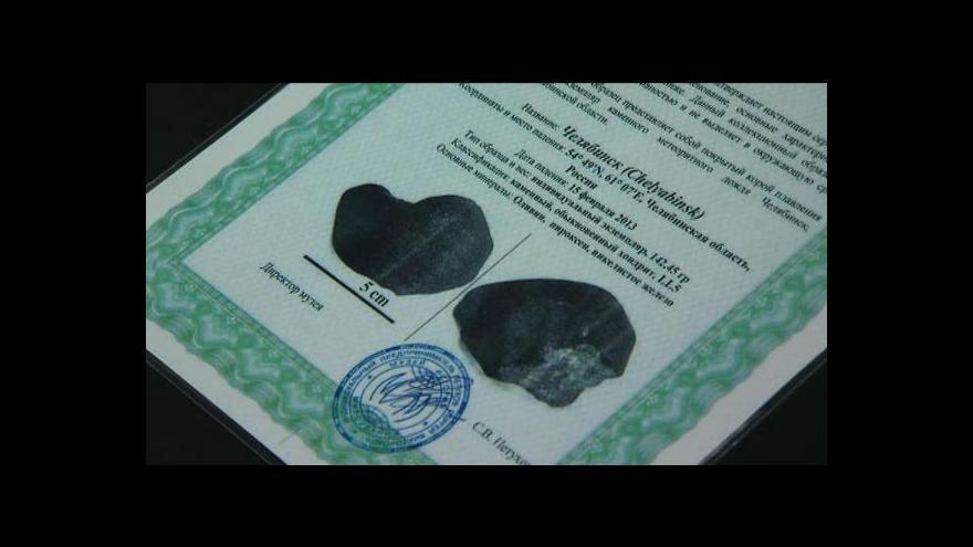 Video Čeljabinský meteorit je v Česku