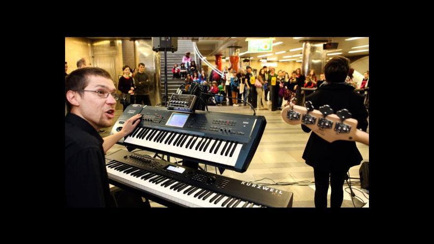 Video Události: Nalaďte se v metru