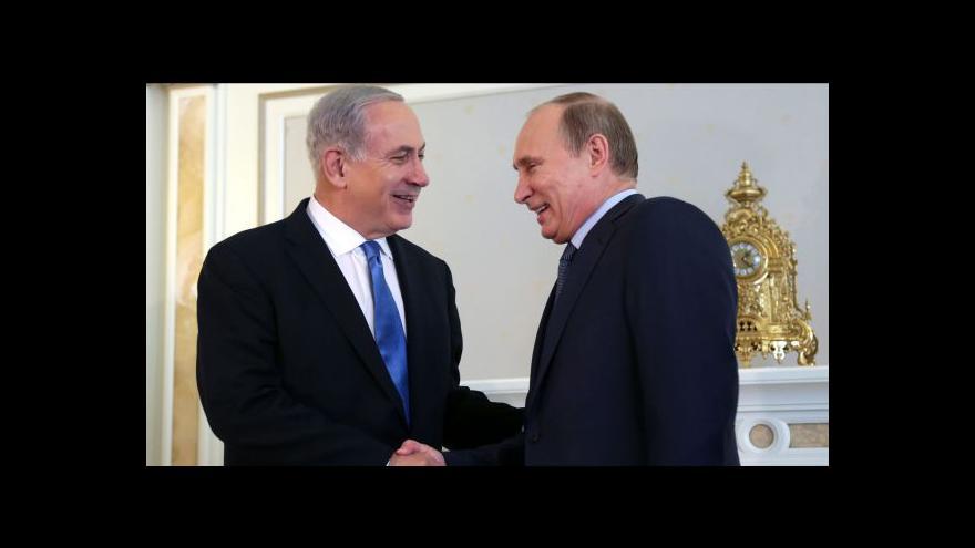 Video Netanjahu se sešel s Putinem