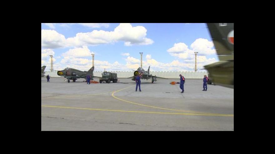 Video Vojenské cvičení v Náměšti nad Oslavou