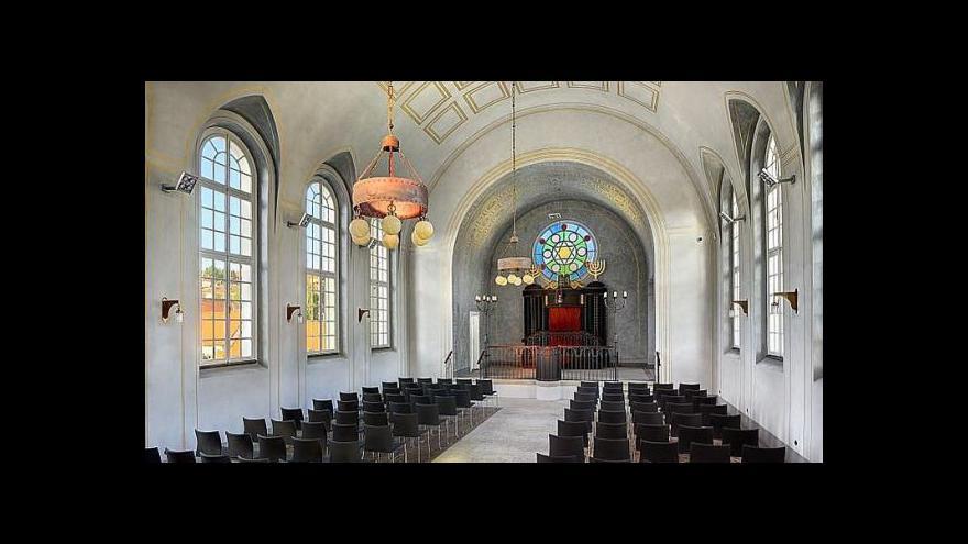 Video Reportáž o krumlovské synagoze