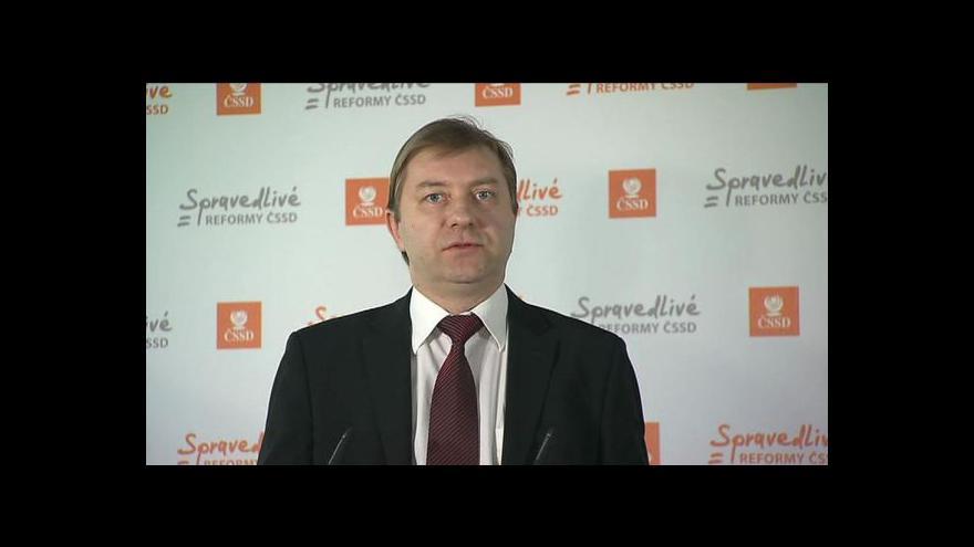 Video Stínový ministr Roman Sklenák o rodičovské dovolené