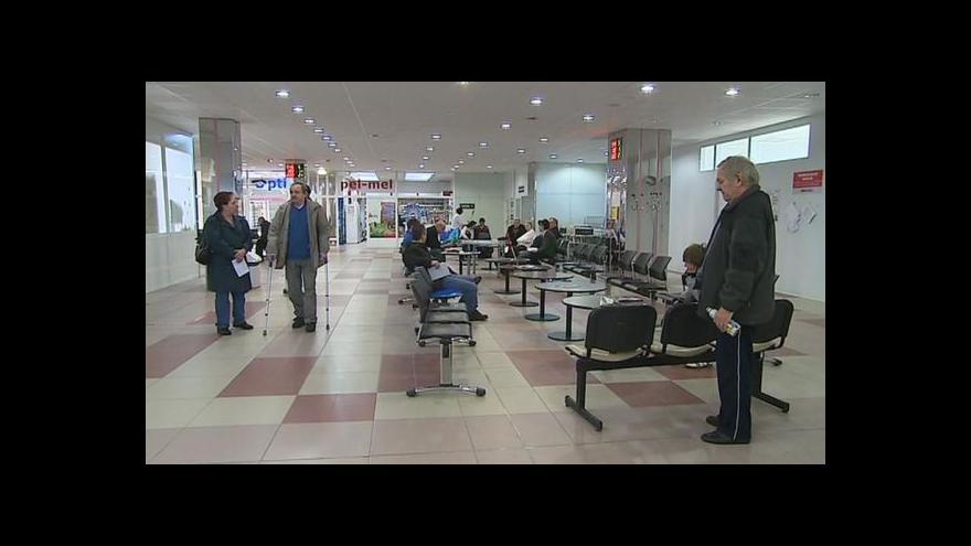 Video Téma zadlužených nemocnic v Událostech v regionech