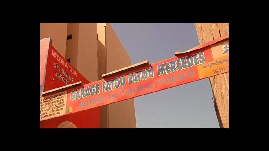 Video Automechaničky v Senegalu
