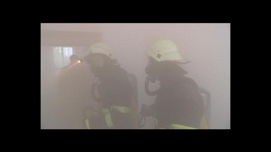 Video Zdeněk Mlnařík o hasičském cvičení