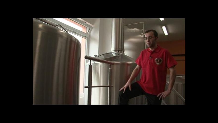 Video Sládek Patrik Rokytka prozrazuje postup výroby