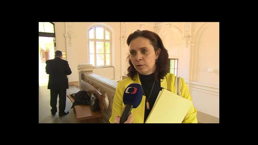 Video Státní zástupkyně Štěpánka Růžičková o rozsudku pro Romana Zábrše
