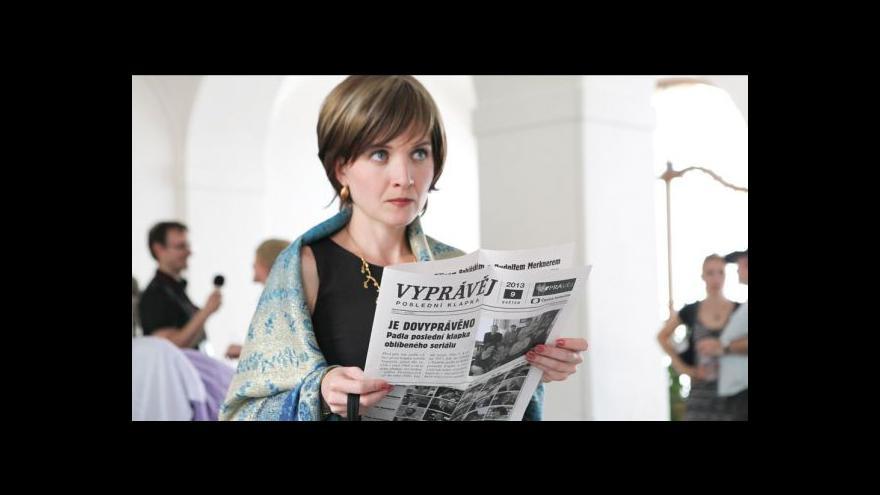 Video Reportáž Evy Spáčilové o konci seriálu Vyprávěj