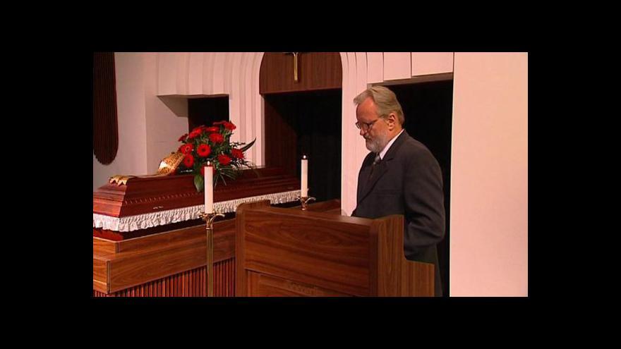 Video Rozloučení s Dolores Šavrdovou