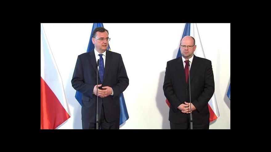 Video Brífink po jednání premiéra se šéfem Hospodářské komory