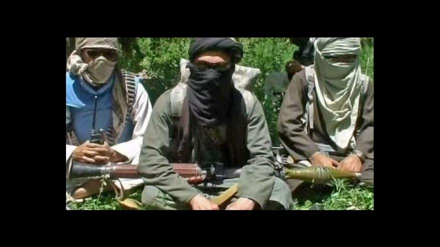 Video Taliban hrozí před volbami