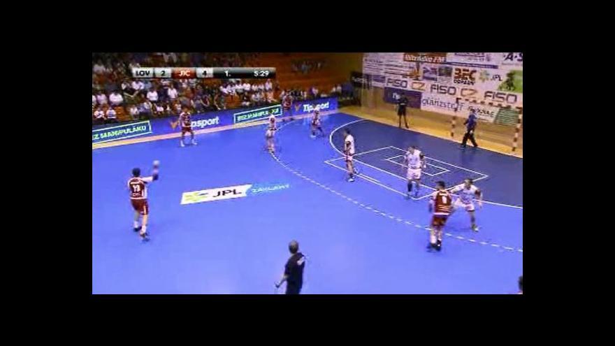 Video Sestřih utkání v házené Lovosice - Jičín