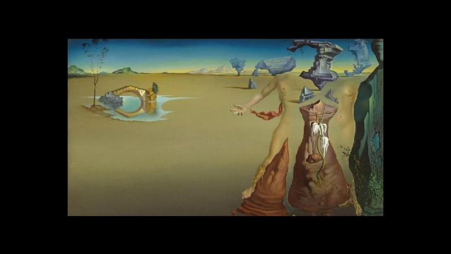 Video Výstava Salvadora Dalího v Madridu