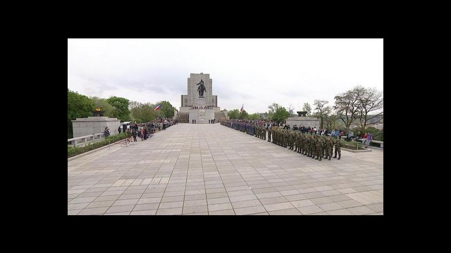 Video Oslavy konce války na Vítkově a Klárově