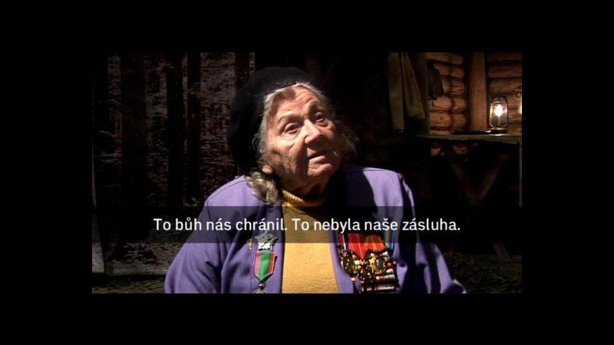 Video Příběh parašutistky Diny Šapovalové