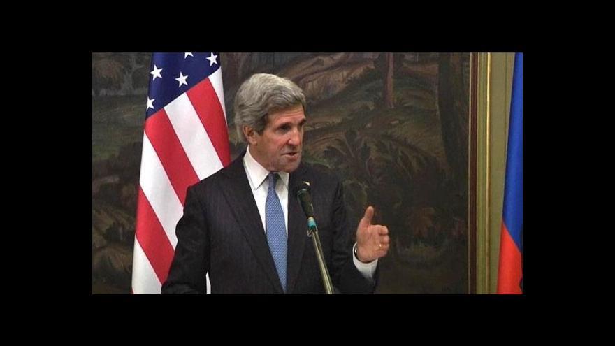 Video USA a Rusko chtějí uspořádat konferenci o Sýrii