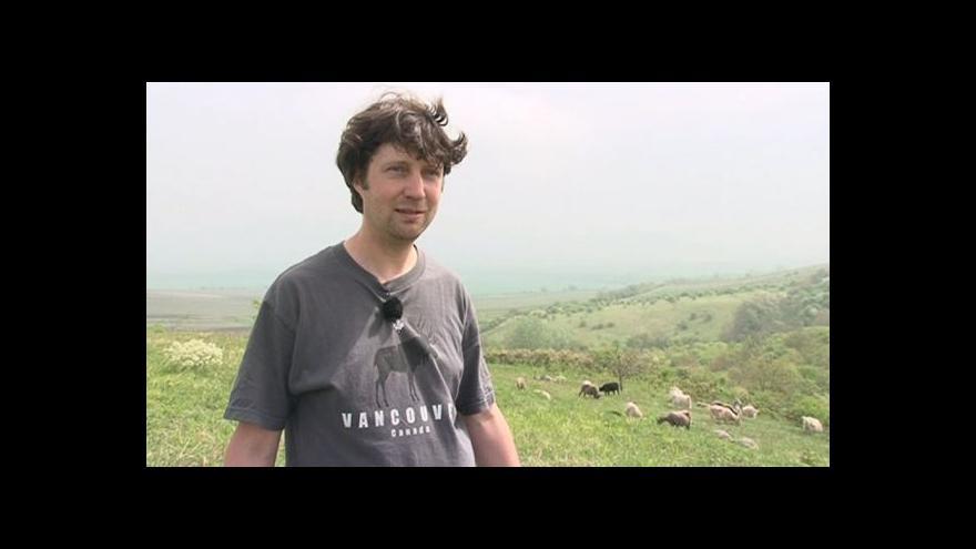 Video Majitel stáda Petr Kosmák