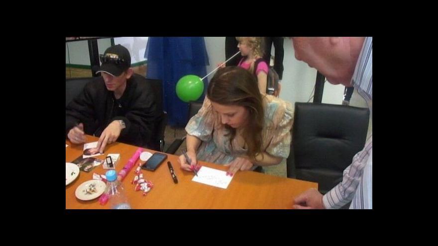 Video Mluvčí ČT Brno Hana Orošová komentuje den otevřených dveří