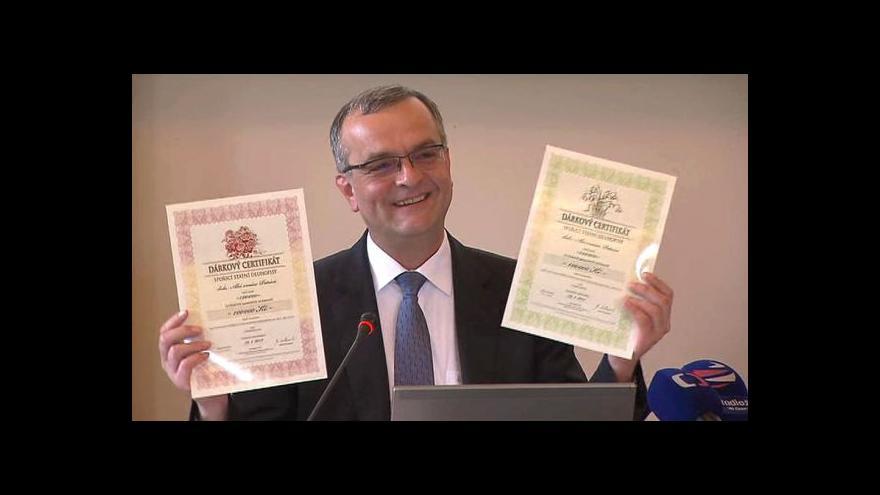 Video TK ministerstva financí k jarní emisi dluhopisů