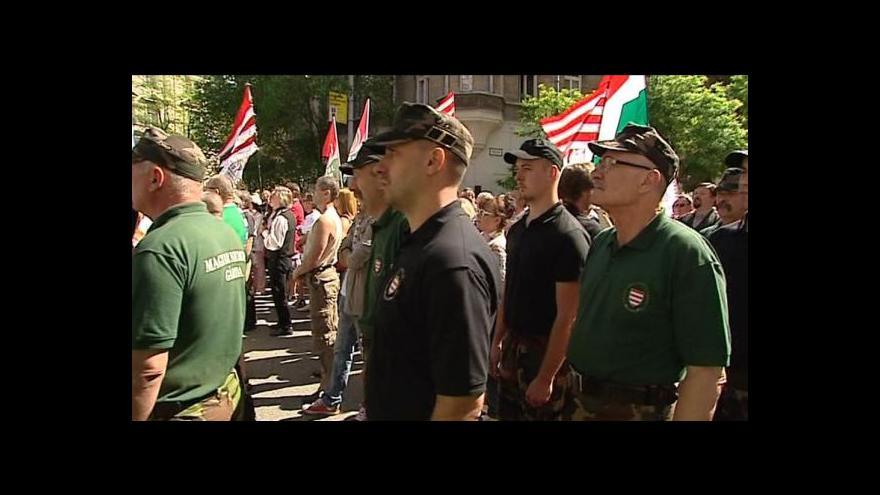 Video Jobbik znovu svolal příznivce do ulic