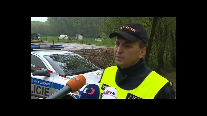 Video Velitel zásahu Petr Flašar hovoří o nálezu brašny