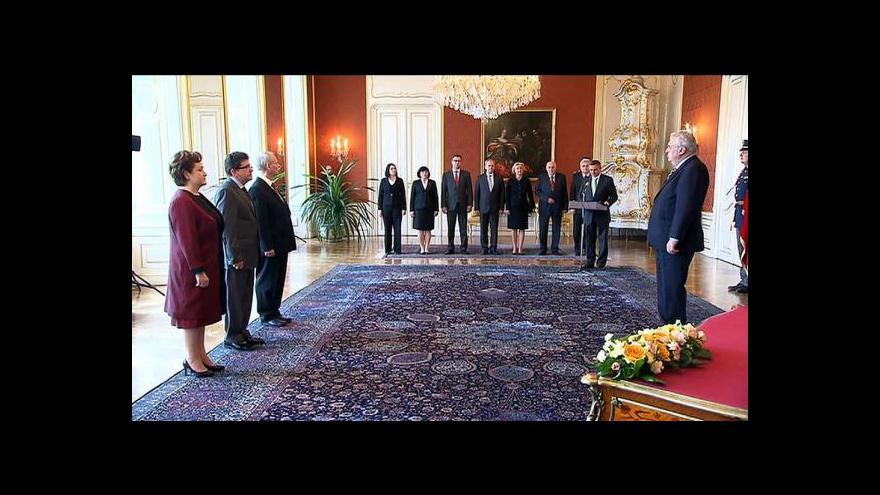 Video Jmenování ústavních soudců