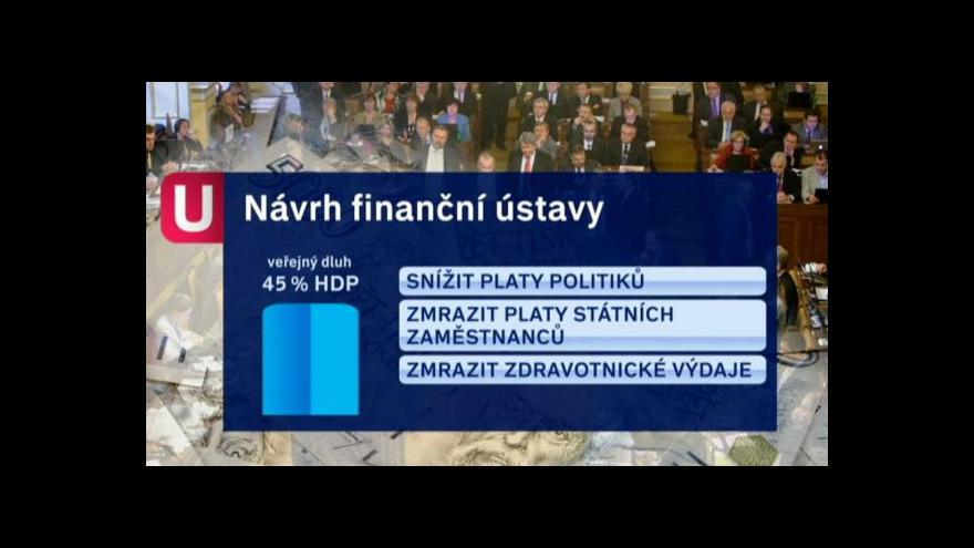 Video Finanční ústava tématem Událostí