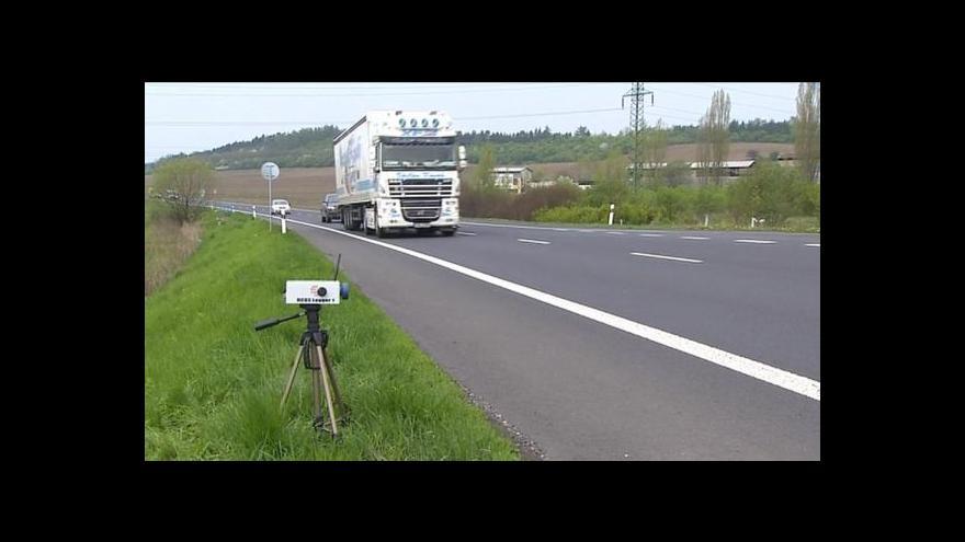 Video Jan Stuchlík o sčítání dopravy u Loun