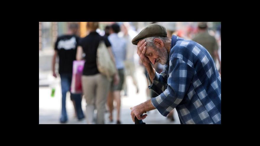 Video Nezaměstnanost tématem Ekonomiky ČT24