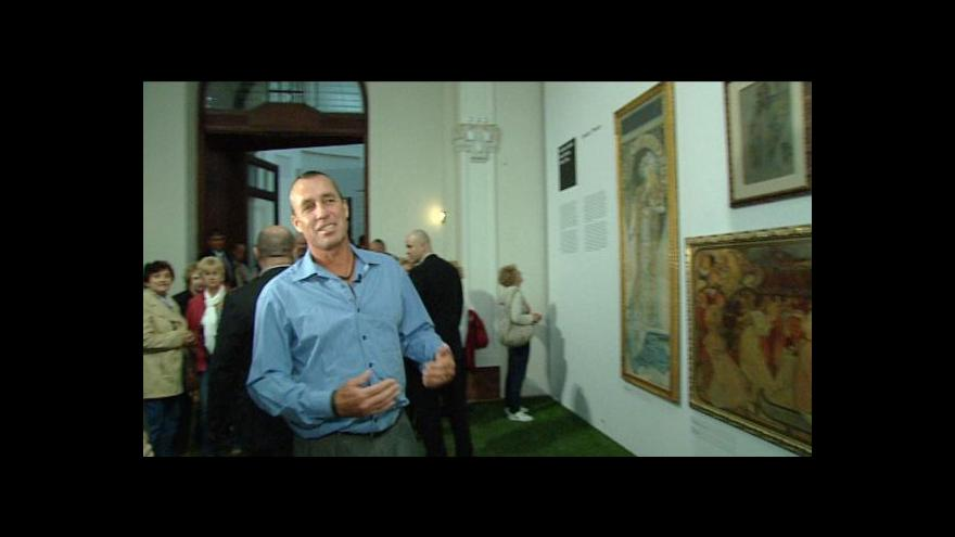 Video Ivan Lendl představuje Muchovy plakáty