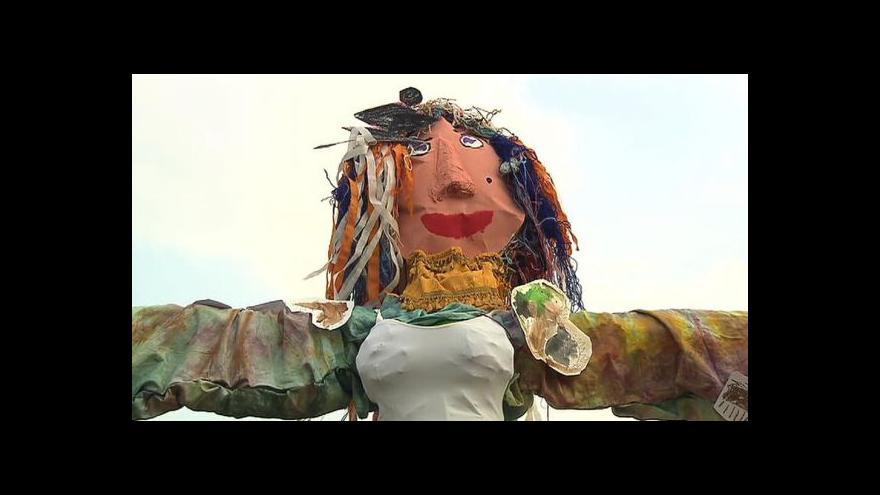 Video Události k pálení čarodějnic a Majálesu