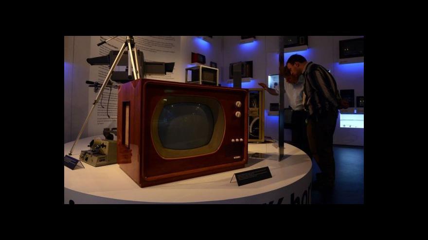 Video Jak šel čas s televizním přijímačem