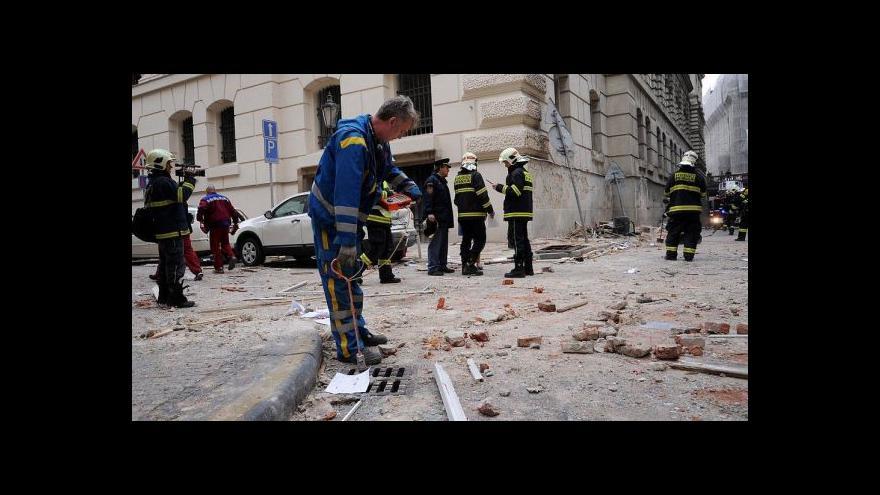 Video Brífink primátora a IZS k výbuchu v Divadelní ulici