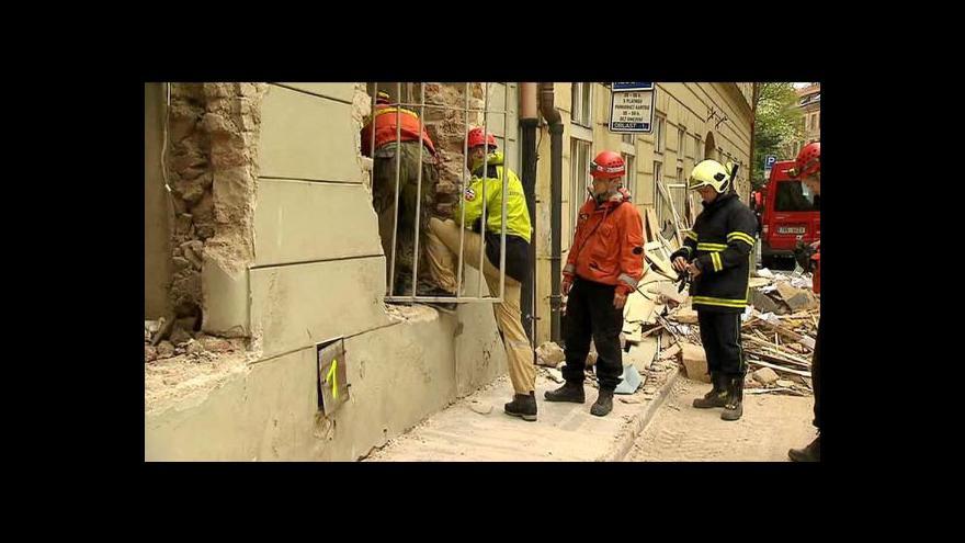 Video Bez komentáře: Štáb ČT na místě neštěstí