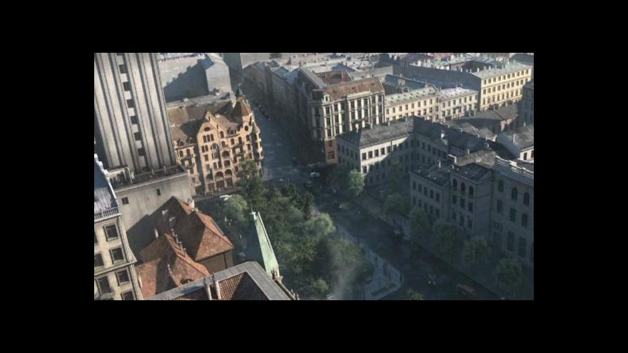 Video Události o unikátní animaci předválečné Varšavy