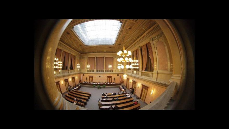Video Reportáž o Rychetského Ústavním soudu