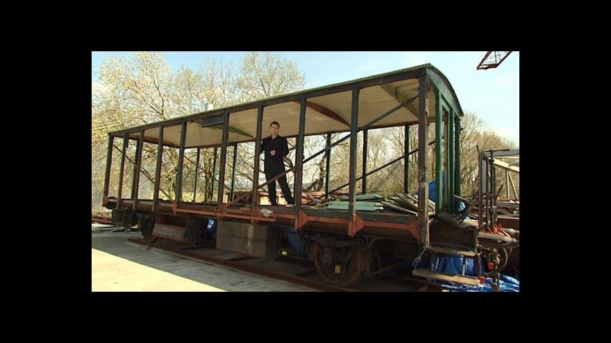 Video Události o replice legionářského vlaku